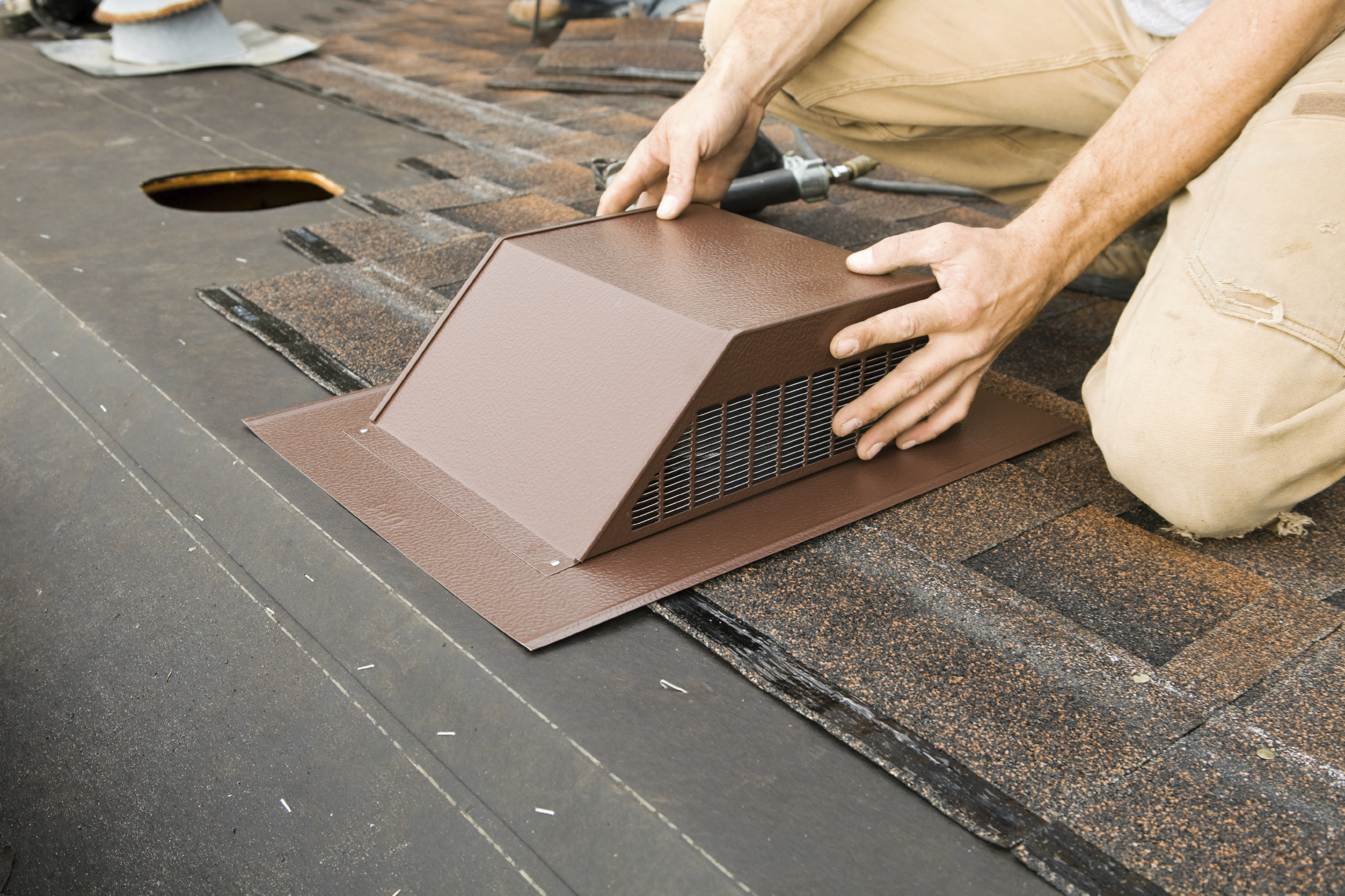 Roof Air Ventilator : Clarifying the difference between vented and unvented